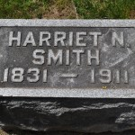 Harriet N. Smith (1831-1911), esposa de Uriah Smith, Battle Creek - MI