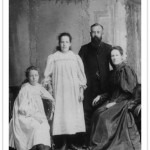 William C. White e família