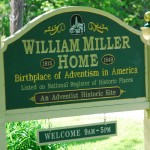 Placa da casa de William Miller - NY
