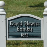 Placa da casa de David Hewitt, Battle Creek - MI