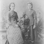 Addie e May Walling, 1878