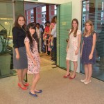 Recepcionistas do Evento